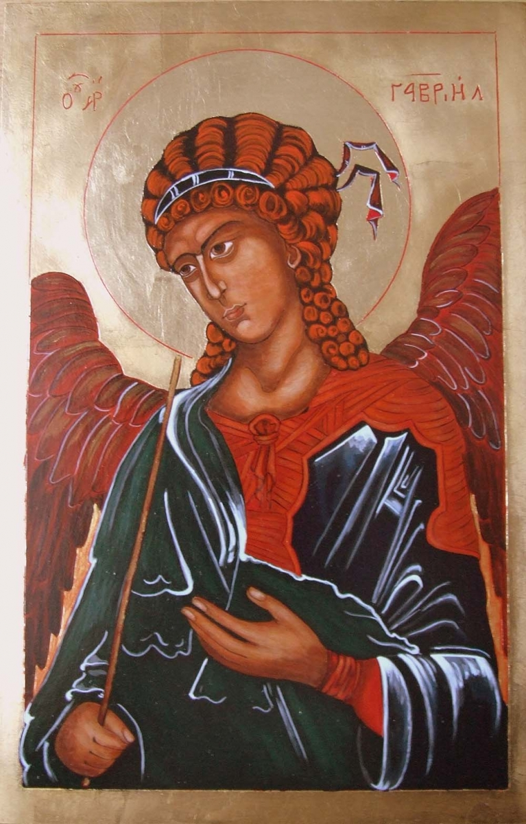 ikona kanoniczna Archanol Gabriel