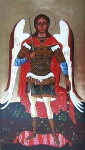 ikona kanoniczna Archanol Michal