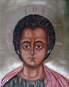 ikona kanoniczna Chrystus Emmanuel