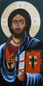 ikona kanoniczna Chrystus Pantokrator VI w