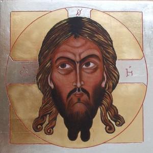 ikona kanoniczna Mandylion XII w