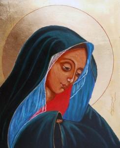 ikona kanoniczna Matka Boza Bolesna