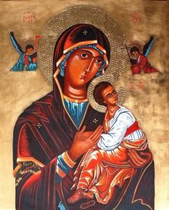 ikona kanoniczna Matka Boza Nieustajacej pomocy