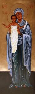 ikona kanoniczna Matka Boza z dzieciatkiem