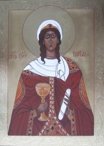 ikona kanoniczna Sw Barbara