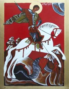 ikona kanoniczna Sw Jerzy
