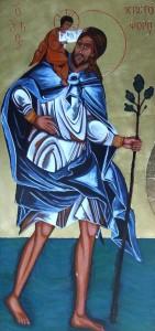 ikona kanoniczna Sw Krzysztof