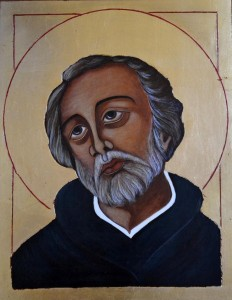 ikona kanoniczna Swiety Andrzej Bobola