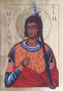 ikona kanoniczna Swiety Marcin